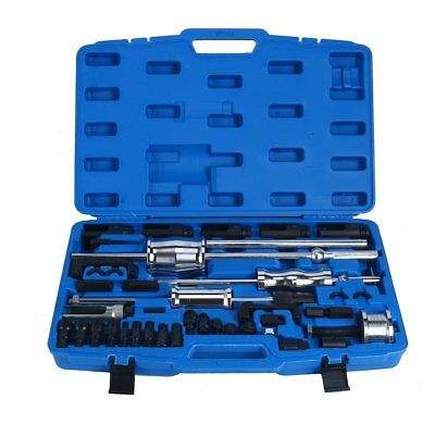 40Pcs Diesel Injector Extractor Master Set Puller Tool Remover Master Tool Kit