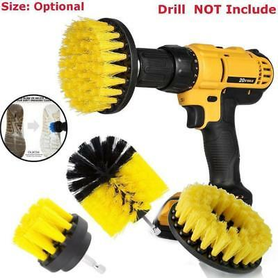 3Pcs Power Scrubber Brush Set For Cleaning Bathroom Kitchen Tiles Cordless Drill