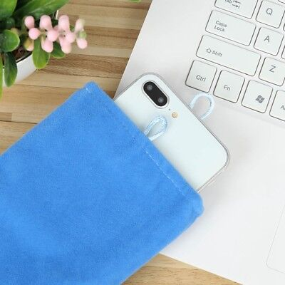 5 Inch Universal Flannel Soft Cloth Pouch Bag For iPhone Mobile Phone Bag