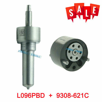 Valve 9308-621C+Nozzle L096PBD Repair Kit 7135-652 For FORD Diesel Fuel Injector