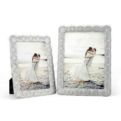New Hand-made Photo Frame Silver Fashion Home Decoration Alloy Metal