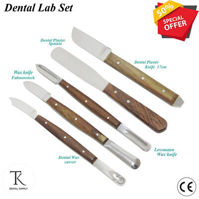 Dental Laboratory instruments Fahnenstock wax knives plaster Gritman