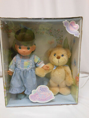 1998 Precious Moments My Beary Best Friend Doll  ADRIANNA with Bear NRFB