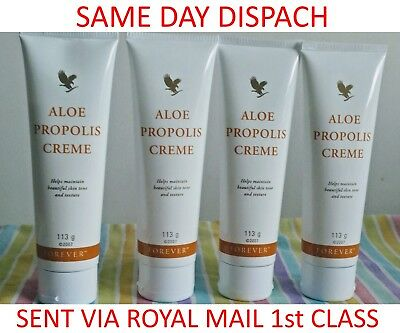 New-Forever Living Propolis Creme & Aloe Vera Gelly-Free UK Delivery