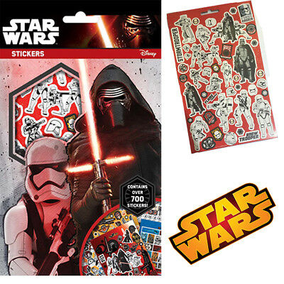 Star-wars Over 700 Stickers Book Children's Character Fun Party Bag Fillers