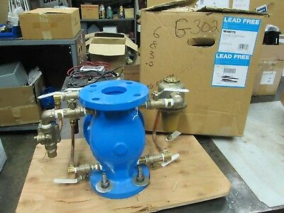 "Watts 2-1/2"" ACV Pressure Reducing Control Valve W/ Low Flow Bypass T871110 NIB)"