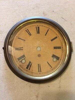 Gilbert Mantle Clock Dial & Bezel With Glass