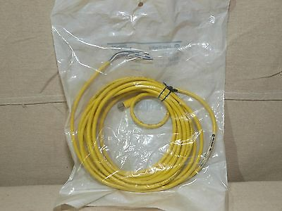 Allen Bradley 889P-F4AB-5 Single End QD Cordset Straight Female Pico - NEW