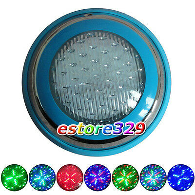 10W/12V Multicolor RGB LED Wall-mounted UNDERWATER LIGHT LAMP for SWIMMING POOL