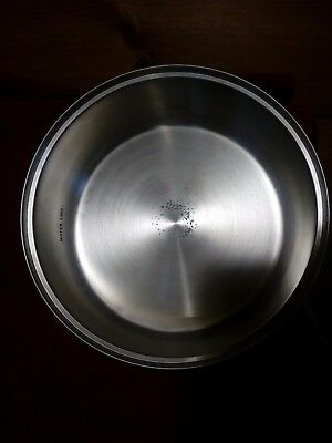Seville Classics Chafing Dish Large Round #14015 5 QT  insert replacement