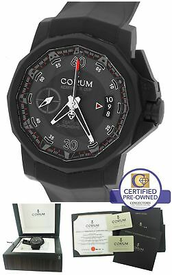 Corum Admiral's Cup Centro Mono Pusher LE PVD Black Watch 961.101.94/F371 AN12