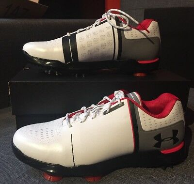 3f3fd147c048 UNDER ARMOUR UA Spieth One JR Golf Shoe Cleat 1301154-108 Size 5.5Y ...