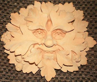 Latex Craft Mould to Make Tree Man Green Man  Plaque Art & Crafts Hobby Style 3