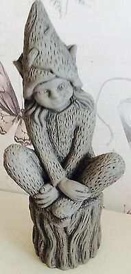 Latex Craft Mould To Make Pixie Garden Ornament On Log Art & Crafts Hobby