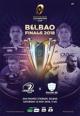 2018 Champions Cup Final Leinster v Racing 92