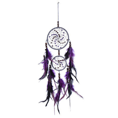 Dream Catcher Wall Hanging Decoration Bead Ornament Feathers Decor Handmade