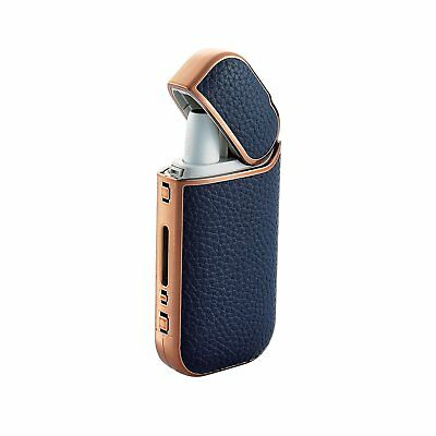 ELECOM iQOS Case electronic cigarette black Leather Cover Girl Japan New