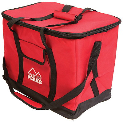 Extra Large Insulated Cooler Cool Bag Box Picnic Camping Food Drink Ice 26L New