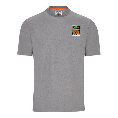 Red Bull Tech T-Shirt KTM Racing Team Heather Grey