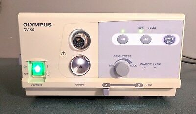 Olympus CV-60 Endoscopy Processor Power/Light Source Tested Good Used Condition