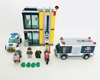 Lego City Bank Money Transfer 3661 2800 Picclick