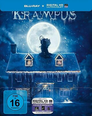 Krampus - Limited Edition Steelbook [Blu-ray] New and Factory Sealed!!