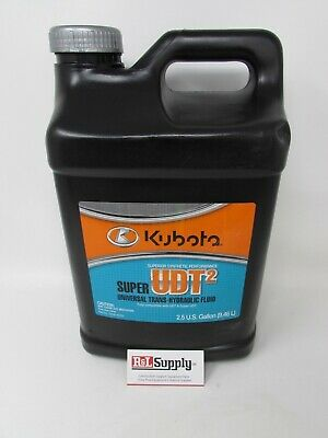 Genuine Kubota Tractor 2.5 Gallon Udt2 Transmission Hydraulic Oil 70000-40202