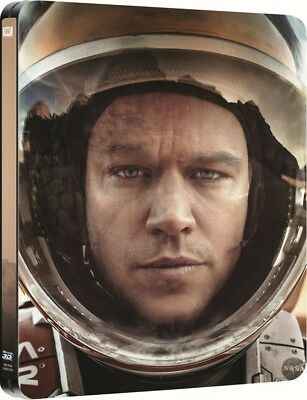 The Martian 3D - Limited Edition Steelbook [Blu-ray 3D + Blu-ray] New & Sealed!!