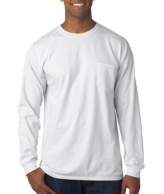 Comfort Colors Men's 6.1 oz. Long-Sleeve Pocket T-Shirt C4410 S-3XL
