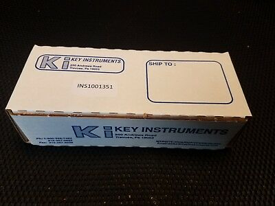 Key Instruments FR2A12BVBN .04 -.5 LPM Air FR Series Acrylic Flowmeter - NEW