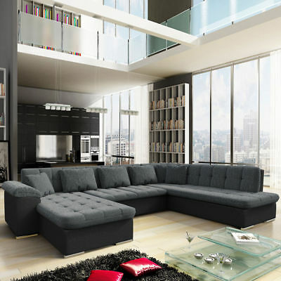 couch garnitur ecksofa sofagarnitur sofa puma schlaffunktion wohnlandschaft neu eur 499 00. Black Bedroom Furniture Sets. Home Design Ideas