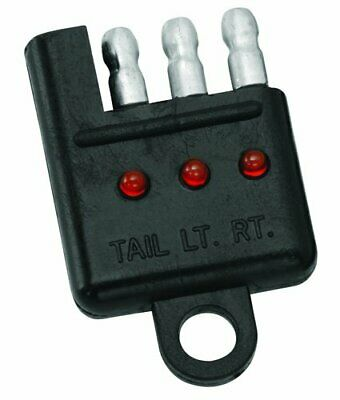 Tow Ready 20114 4-Flat Car End Tester with LED Display