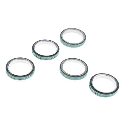 5 Pieces Exhaust Pipe Gaskets for GY6 125cc 150cc Scooter Moped Motorcycle