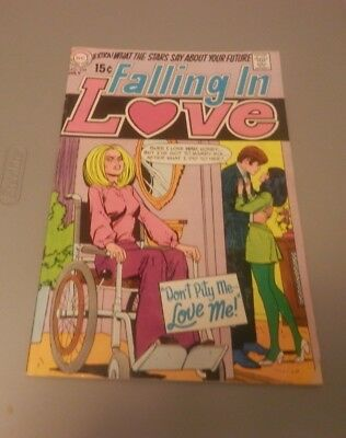 "Vintage 1969 DC Comics Falling in Love No. 108 ""PLEASE READ"""