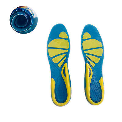 Work Boots Gel Insoles Shoe Inserts Orthotic Arch Support Pads Massaging Feet