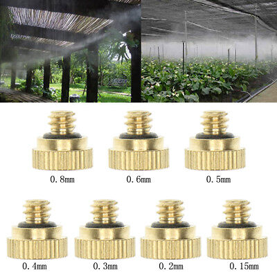 Low Pressure Fog Mist Misting Atomizing Sprinkler Nozzle Sprayer Greenhouse