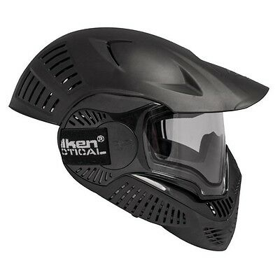 Paintball Maske Annex MI-7 Full Head thermal - black Paintball, Neu