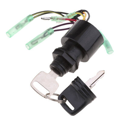Boat Ignition Key Switch 3 Position Off-Run-Start for Mercury 87-17009A5
