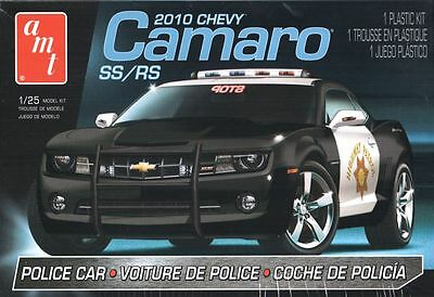 AMT 2010 Chevy Camaro Police  1:25 Scale Model Kit NEW