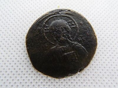 57-1 Anonymous Follis - Ancient Byzantine Bronze Coin JESUS CHRIST