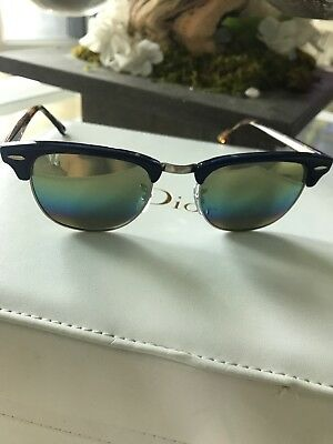 AUTHENTIC RAY BAN model RB 3016 clubmaster 1223 c4 -  89.00   PicClick 9b84003123