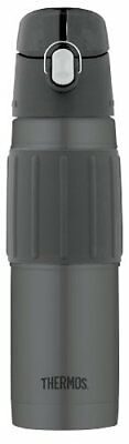 Thermos Vacuum Insulated 18 Ounce Stainless Steel Hydration Bottle Charcoal NEW