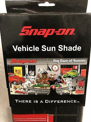 Snap-on Tools Collectible Sun Shade Auto Truck