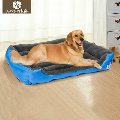 Pet Dog Bed Warming Dog Cat House Soft Material Fall and Winter Warm Kennel