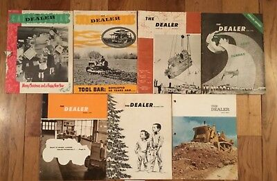 7 Issues of Caterpillar The Dealer Magazines 1952 1953 1959 1967 #42