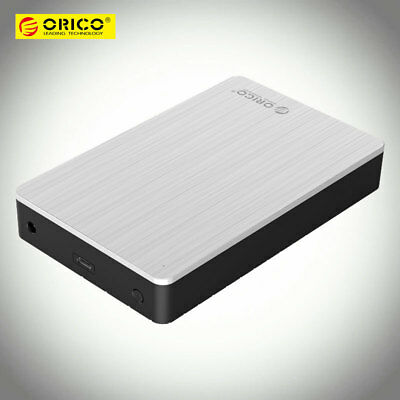 ORICO Aluminum Alloy+ABS Commercial 3.5 inch Type-C 10Gbps External Hard Drive