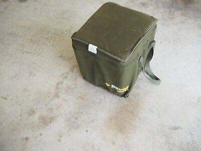 OZtrail Portable (20 Litre) Camping Outdoor Toilet + Canvas Carry Bag