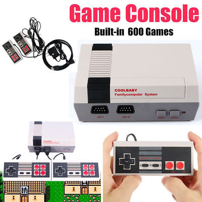 Classic TV Video Game Console 2 Childhood Built-in 600 Game For Mini HDMI HD