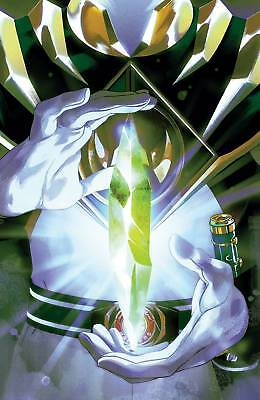 Mighty Morphin Power Rangers #25 One Per Store Variant Shattered Grid
