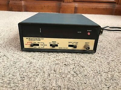 Vintage Heathkit Frequency Counter Model IM-4100
